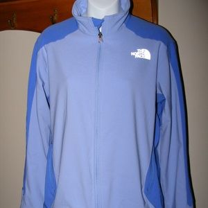 NORTH FACE blue Jacket lightweight athletic Large